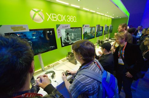 Microsoft Updates Xbox as Apple to Facebook Gain in Gaming