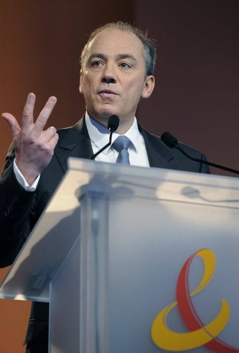 Stephane Richard, CEO of France Telecom SA