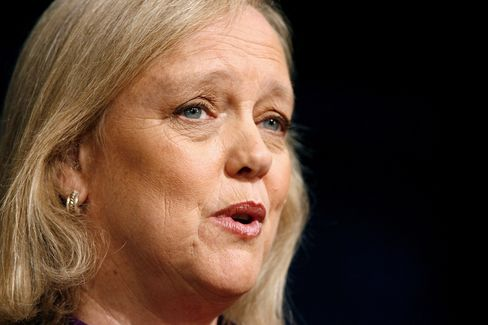 Hewlett-Packard Co Chief Executive Officer Meg Whitman