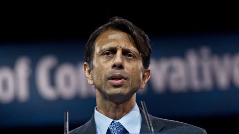 Governor Bobby Jindal speaks in National Harbor, Md., on March 15, 2013.