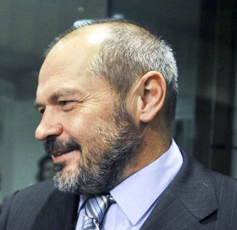 Slovenian Finance Minister Franc Krizanic