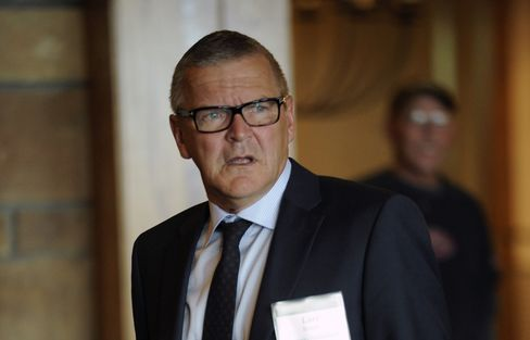 Denmark's Central Bank Governor Lars Rohde