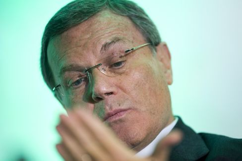 Martin Sorrell, chief executive officer of WPP Plc.