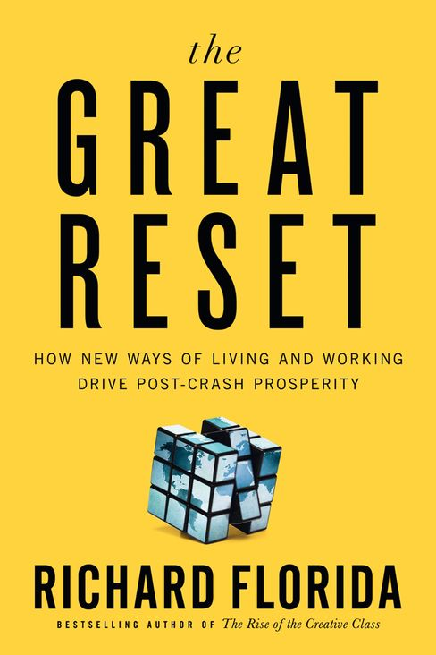 The book cover of Richard Florida's