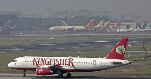 Kingfisher Air Shunned as Cash Crunch Disrupts India Flights