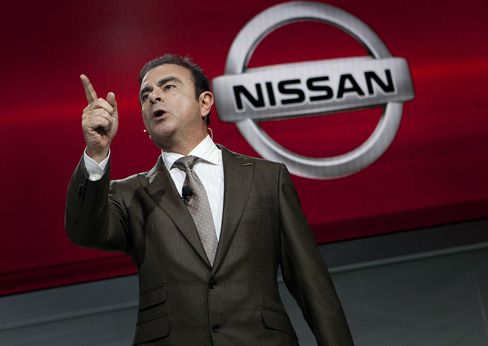 Nissan Motor Co. CEO Carlos Ghosn