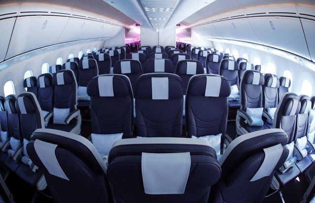 Passengers no longer expect much comfort in the skies. Photographer: Paul Thomas/Bloomberg