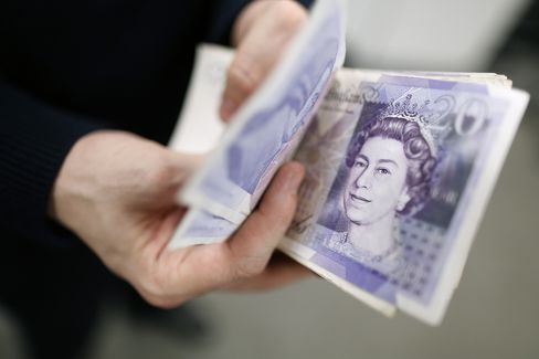 Pound Falls to 2 1/2-Year Low Versus Dollar Before BOE Decision