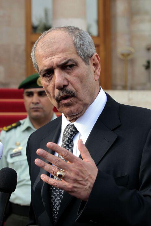 Jordan's Prime Minister Fayez al Tarawneh