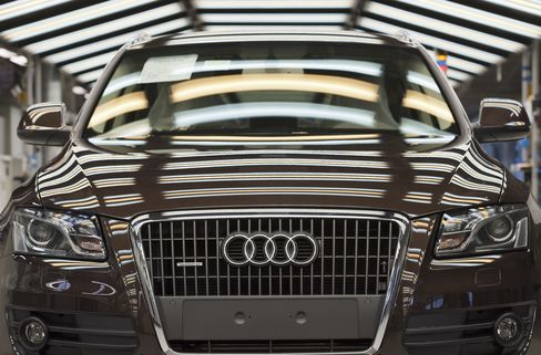 Audi Targets Steady 2012 Earnings After Beating Mercedes