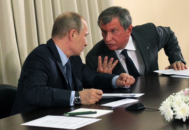 Igor Sechin: new to the U.S. sanctions list. Photographer: Sasha Mordovets/Getty Images