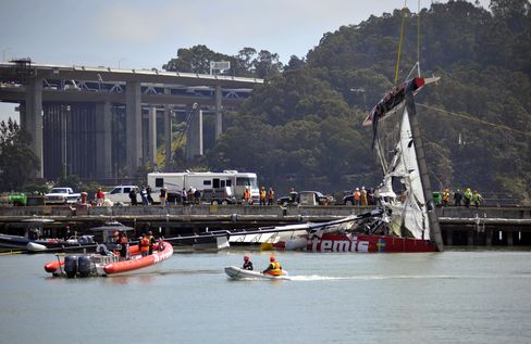 America's Cup Races to Proceed as Committee Reviews Sailor Death