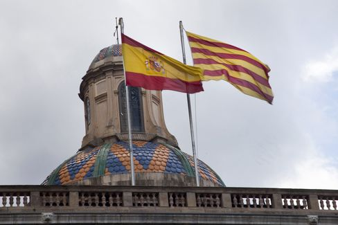 Moody's Cuts Ratings on Catalonia, Four Other Spanish Regions