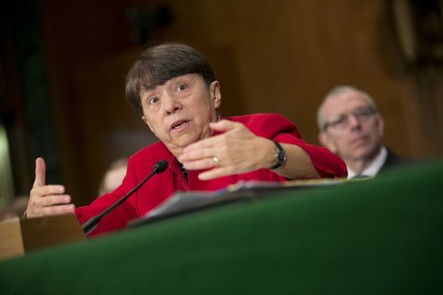 Nominee for Chairman of SEC Mary Jo White