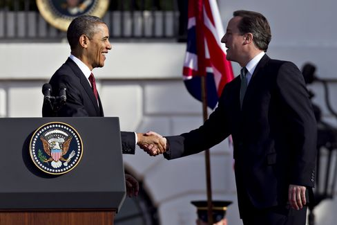 Obama, Cameron Highlight U.S.-U.K. Alliance