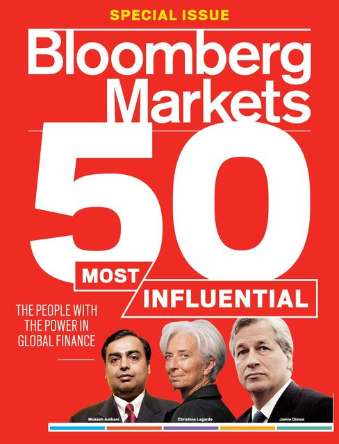 The cover of the October 2011 issue of Bloomberg Markets
