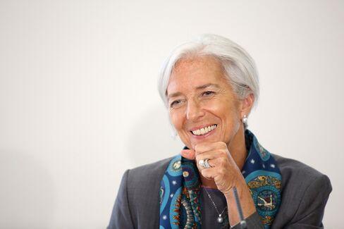 IMF MD Christine Lagarde