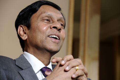 Sri Lanka's Central Bank Governor Ajith Nivard Cabraal