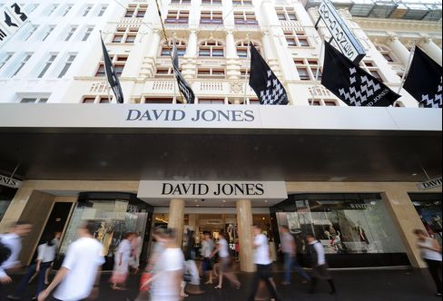 David Jones Slumps Most in 14 Years After Cutting Forecasts