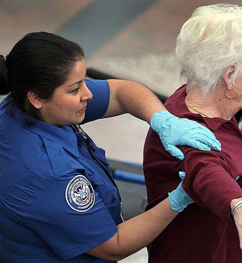 TSA Enhanced Pat Down