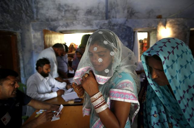 Can India's missing voters find their voices?Photographer: Saurabh Das/AP Photo