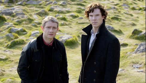 British Invading Again as U.S. TVs Tune In for Sherlock Holmes