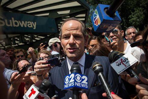 Former New York Governor Eliot Spitzer