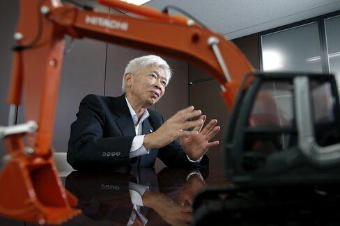 Hitachi Construction Machinery CEO Yuichi Tsujimoto
