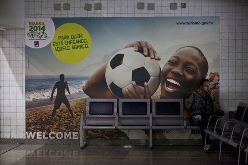 World Cup Advertisement at Galeao Airport