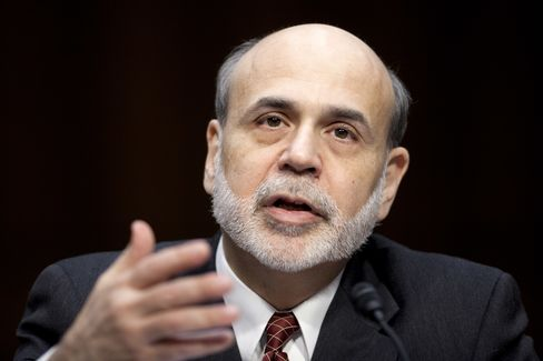 """""""Currently the terms are pretty tight,"""" Fed Chairman Ben S. Bernanke told the Senate Committee on Banking, Housing and Urban Affairs on March 1. """"That is a problem for the housing market,"""" he said. Photographer: Andrew Harrer/Bloomberg"""