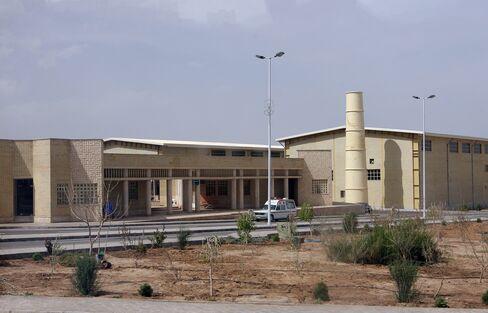 Natanz nuclear site in Iran
