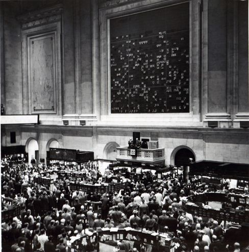 Trading Through Tears as JFK News Swept NYSE Floor 50 Years Ago