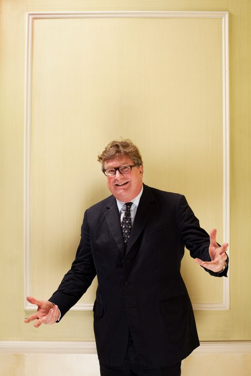 Odey's flagship $1.8 billion Odey European Inc. fund returned 24.1 percent in the first 10 months of 2012, making it No. 2 in the Bloomberg Markets ranking of the best-performing hedge funds in Europe and No. 5 globally. Photographer: Harry Borden/Contour by Getty Images