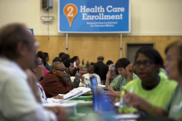 Obamacare's enrollment reports are coming to an end. That's disappointing.Photographer: David Paul Morris/Bloomberg