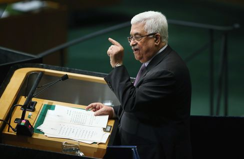 Palestinian Abbas Pares His Statehood Aspirations in UN Speech