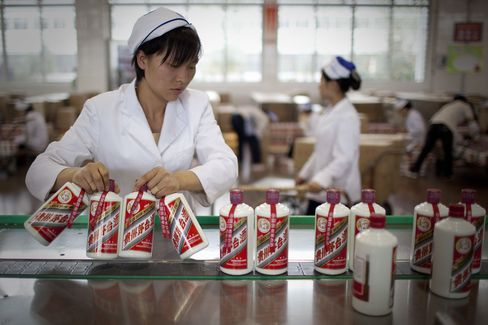 Kweichow Moutai plunges