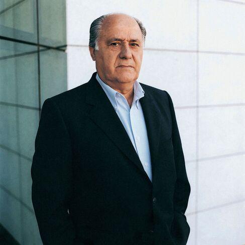 Amancio Ortega, Inditex SA's founder and former chairman, is richer than Warren Buffett with a $53.6 billion fortune. Photographer: Dusko Despotovic/Corbis