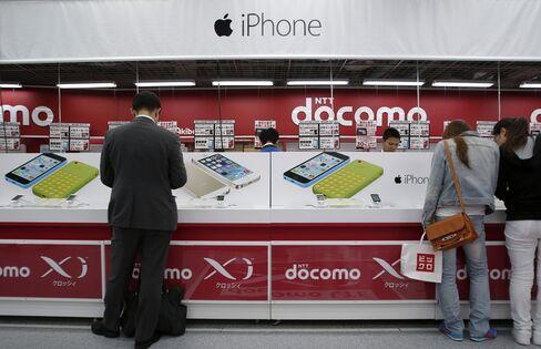 iPhones for NTT Docomo