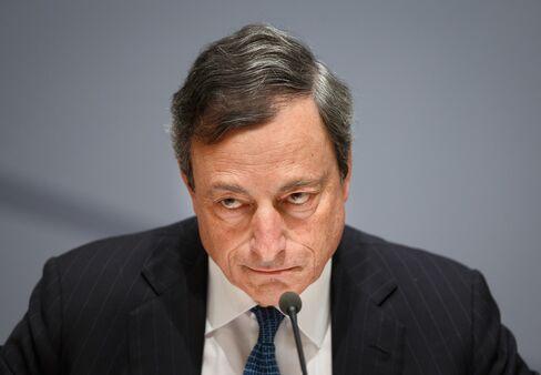 President of the ECB Mario Draghi