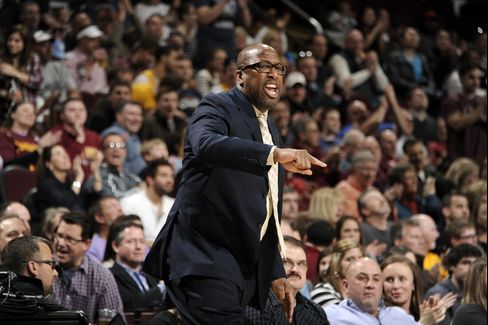 Cleveland Cavaliers Former Head Coach Mike Brown