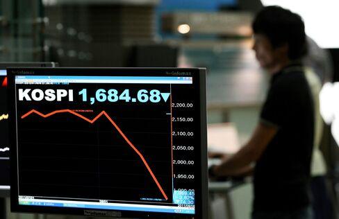 Korea Bans Short Selling as State-Run Funds Signal Buying