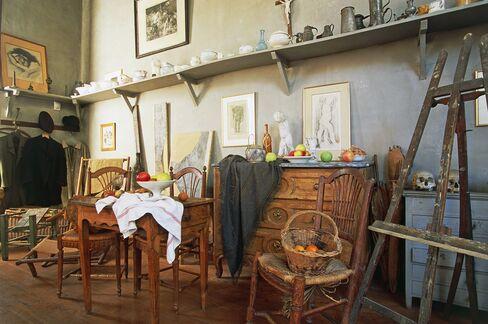 Paul Cezanne's study, Aix-en-Provence, Provence-Alpes-Cote d'Azur, France.