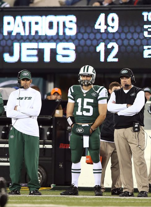 Jets Learned Tebow Had Cracked Ribs Day Before Loss, Ryan Says