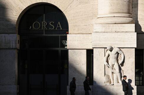 European Stocks Decline on Monti Resignation Plan, Greek Delay