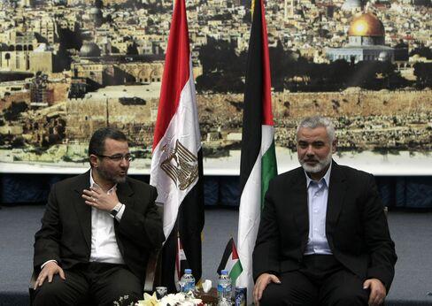 Egyptian Prime Minister Hisham Qandil