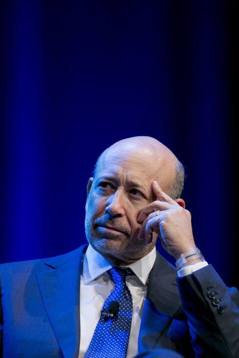 Goldman CEO Blankfein
