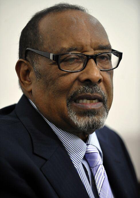 Somaliland's President Ahmed Mohamed Silanyo