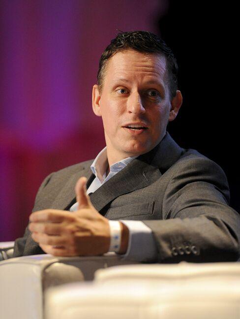 Clarium Chairman Peter Thiel