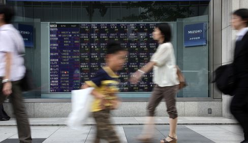 Asian Stocks Head for Third-Daily Gain Before China GDP Report