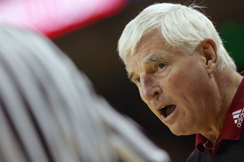 Former Texas Tech Coach Bob Knight